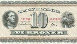 10 Kroner DANEMARK  1972 P.044ac TTB+