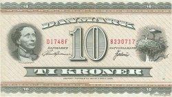 10 Kroner DANEMARK  1974 P.044ae TTB