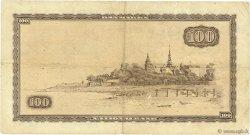 100 Kroner DANEMARK  1965 P.046r5 TB