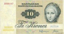 10 Kroner DANEMARK  1972 P.048a TTB