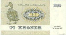 10 Kroner DANEMARK  1972 P.048a SUP