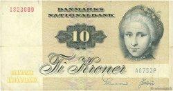 10 Kroner DANEMARK  1975 P.048a TTB