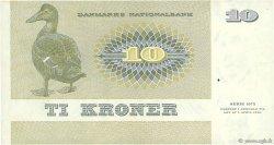 10 Kroner DANEMARK  1975 P.048a SUP