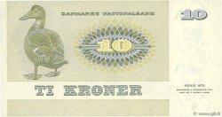 10 Kroner DANEMARK  1976 P.048b SUP