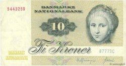 10 Kroner DANEMARK  1977 P.048c TTB