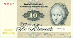 10 Kroner DANEMARK  1977 P.048c NEUF