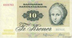 10 Kroner DANEMARK  1978 P.048c SPL