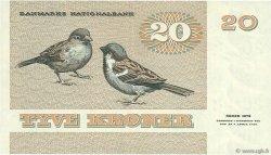 20 Kroner DANEMARK  1979 P.049a SUP