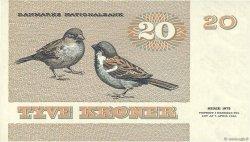 20 Kroner DANEMARK  1979 P.049a NEUF