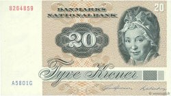 20 Kroner DANEMARK  1980 P.049b SPL