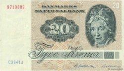 20 Kroner DANEMARK  1984 P.049d TTB