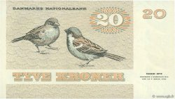 20 Kroner DANEMARK  1984 P.049d SUP
