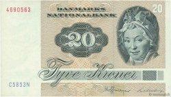 20 Kroner DANEMARK  1985 P.049f TTB+