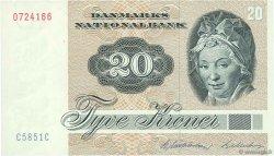 20 Kroner DANEMARK  1985 P.049e NEUF