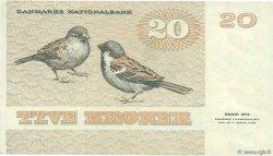 20 Kroner DANEMARK  1987 P.049f SUP