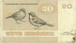 20 Kroner DANEMARK  1988 P.049g TB+