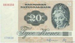 20 Kroner DANEMARK  1988 P.049g SUP
