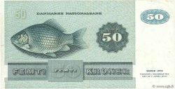 50 Kroner DANEMARK  1993 P.050j TTB
