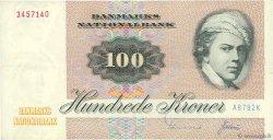 100 Kroner DANEMARK  1978 P.051d TTB+