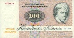 100 Kroner DANEMARK  1979 P.051d SUP
