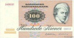 100 Kroner DANEMARK  1985 P.051d SUP
