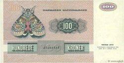 100 Kroner DANEMARK  1989 P.051f TTB+