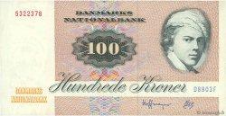 100 Kroner DANEMARK  1990 P.051t TTB+