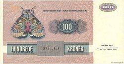 100 Kroner DANEMARK  1991 P.051u SUP
