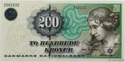 200 Kroner DENMARK  2003 P.062a UNC