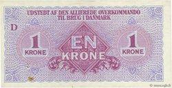 1 Krone DANEMARK  1945 P.M02 SUP+