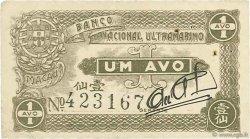1 Avo MACAO  1942 P.013 TTB+