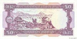 50 Patacas MACAO  1981 P.060b SPL