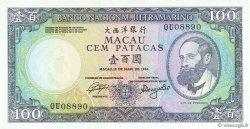 100 Patacas MACAO  1984 P.061a NEUF
