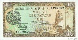 10 Patacas MACAO  1988 P.064 pr.NEUF