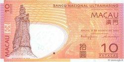 10 Patacas MACAO  2005 P.080 SPL+