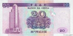 20 Patacas MACAO  1996 P.091a NEUF