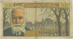 500 Francs VICTOR HUGO FRANCE  1954 F.35.01 B