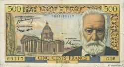 500 Francs VICTOR HUGO FRANCE  1954 F.35.02 B+