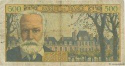 500 Francs VICTOR HUGO FRANCE  1955 F.35.05 B