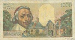 1000 Francs RICHELIEU FRANCE  1953 F.42.02 B+