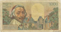 1000 Francs RICHELIEU FRANCE  1953 F.42.02 B