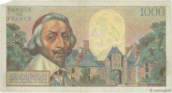 1000 Francs RICHELIEU FRANCE  1953 F.42.02 TB+