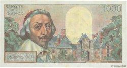 1000 Francs RICHELIEU FRANCE  1953 F.42.02 TTB+