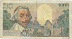1000 Francs RICHELIEU FRANCE  1954 F.42.04 B