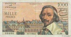 1000 Francs RICHELIEU FRANCE  1954 F.42.06 TB à TTB