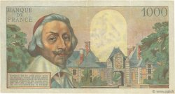 1000 Francs RICHELIEU FRANCE  1954 F.42.08 TTB