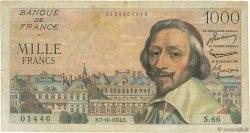 1000 Francs RICHELIEU FRANCE  1954 F.42.08 TB