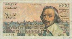1000 Francs RICHELIEU FRANCE  1955 F.42.11 TB+