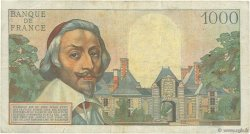 1000 Francs RICHELIEU FRANCE  1955 F.42.13 TB