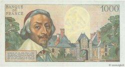 1000 Francs RICHELIEU FRANCE  1955 F.42.13 TTB+